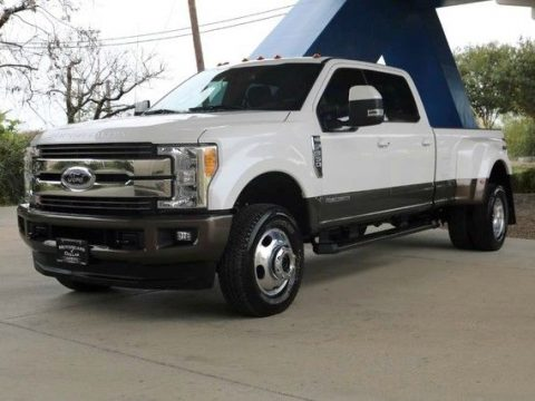 very low miles 2017 Ford F 350 King Ranch lifted for sale