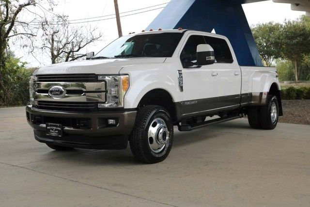 very low miles 2017 Ford F 350 King Ranch lifted