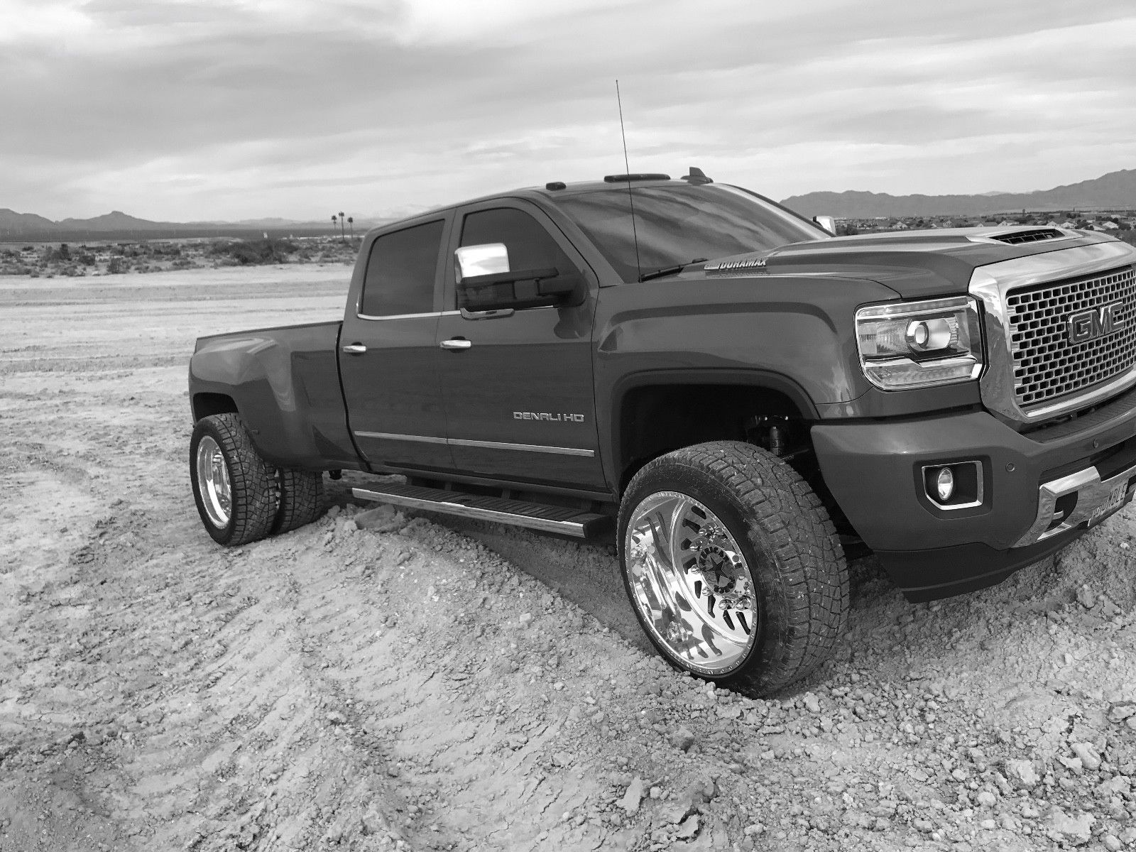 very strong 2017 GMC Sierra 3500 Denali lifted for sale