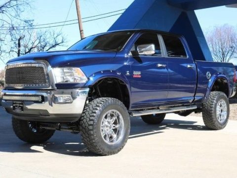 clean 2012 Ram 2500 Laramie lifted for sale