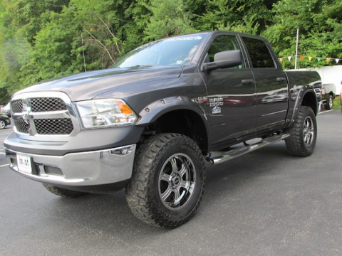 customized 2016 Ram 1500 Rocky Ridge Altitude Conversion lifted for sale