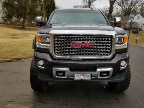 fully loaded 2015 GMC Sierra 2500 Denali lifted for sale