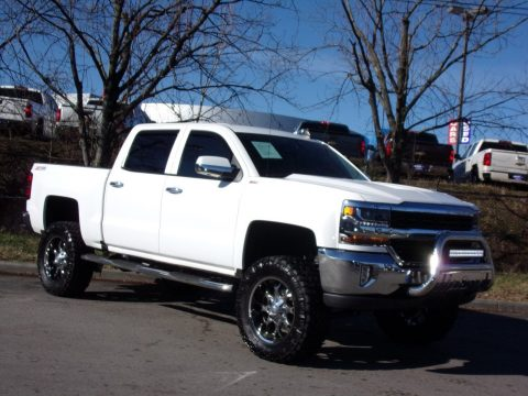 loaded 2016 Chevrolet Silverado 1500 LT lifted for sale