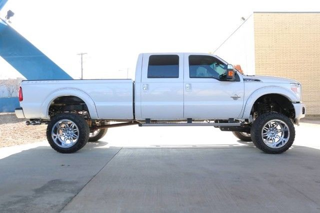 low miles 2016 Ford F 350 Platinum lifted