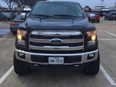nice and clean 2015 Ford F 150 Lariat lifted for sale