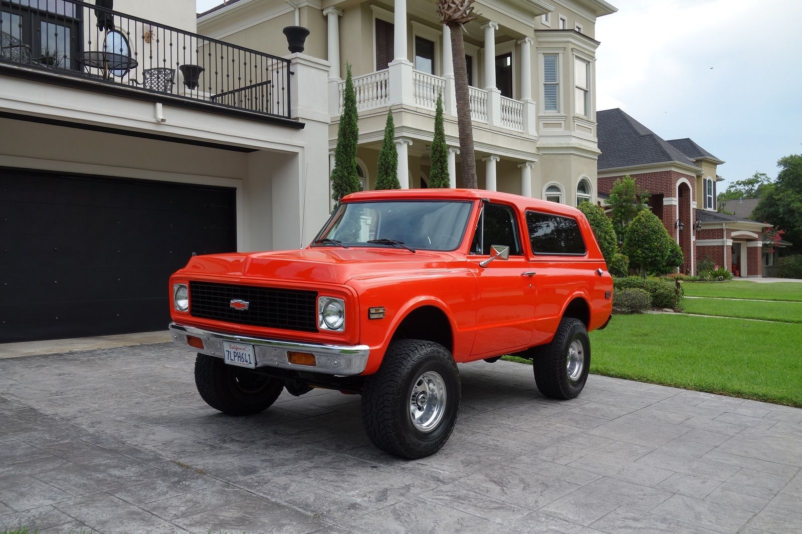 nicely restored 1972 Chevrolet Blazer lifted for sale