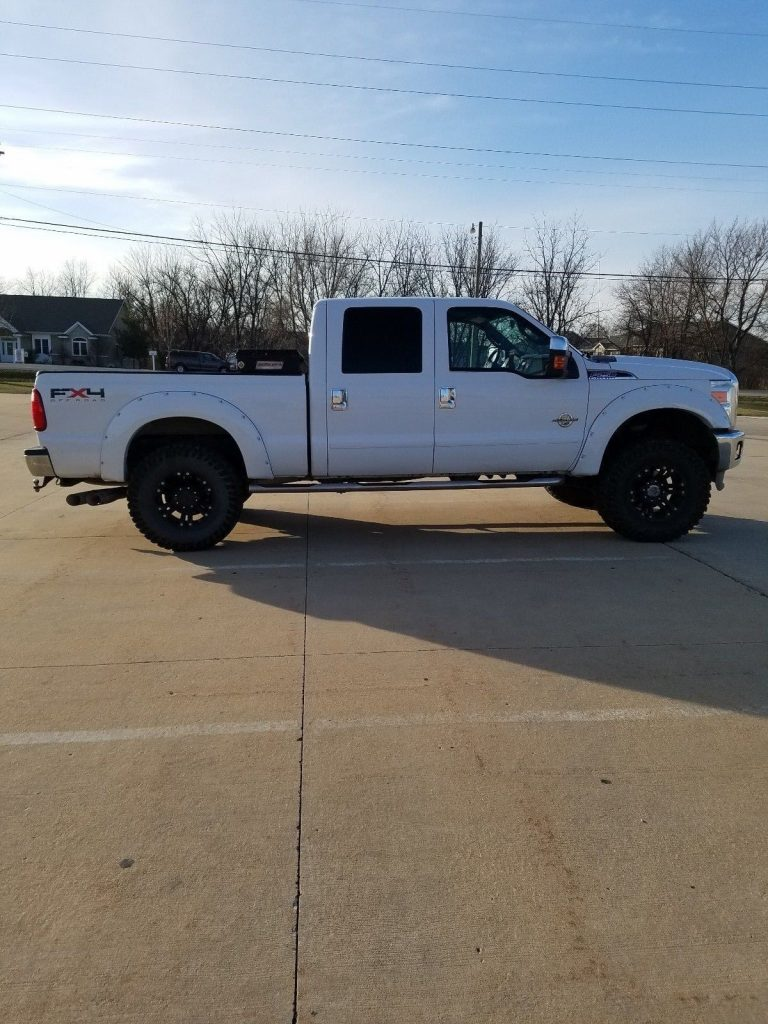 rust free 2011 Ford F 250 XLT lifted