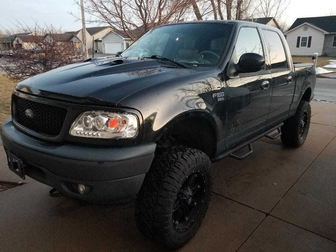 new parts 2003 Ford F 150 Lariat lifted for sale