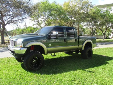 powerstroke diesel 2001 Ford F 250 LARIAT lifted for sale