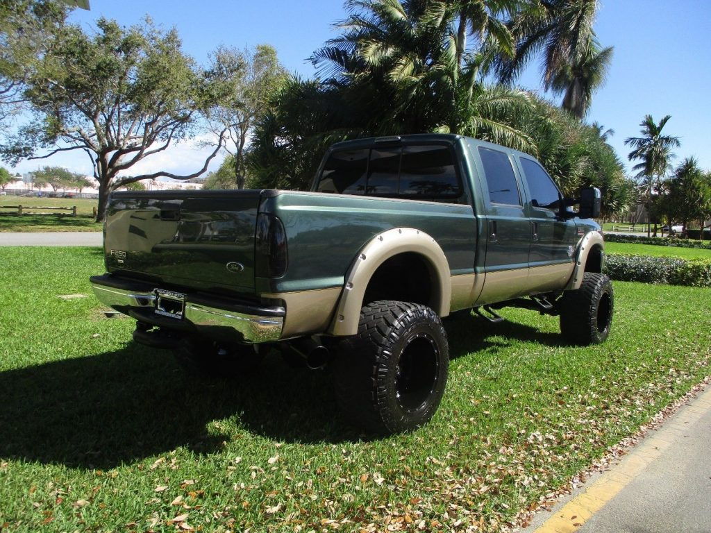 powerstroke diesel 2001 Ford F 250 LARIAT lifted