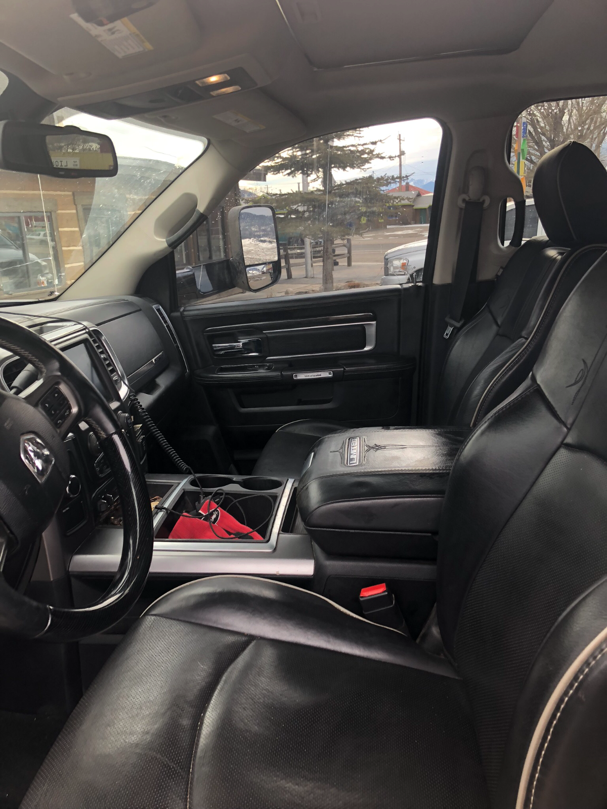 small dents 2014 Dodge Ram 2500 Longhorn Limited lifted