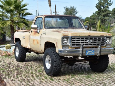 vintage 1975 Chevrolet Pickups lifted for sale