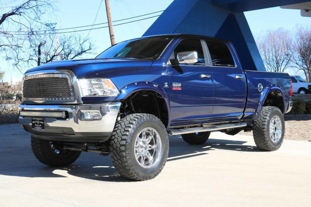 clean 2012 Ram 2500 Laramie lifted