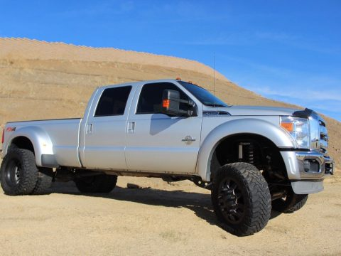 low mileage 2013 Ford F 450 Super Duty Lariat lifted for sale