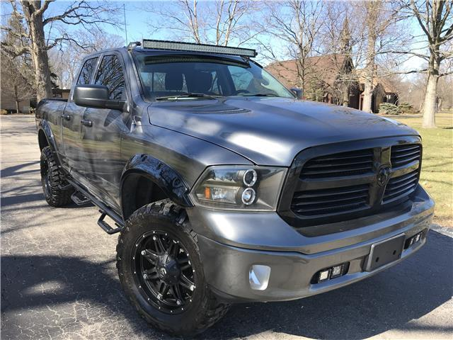 low mileage 2013 Ram 1500 SLT lifted for sale