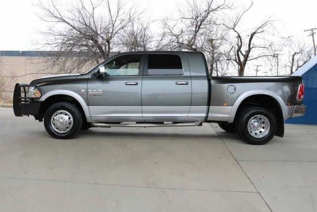 low miles 2013 Ram 3500 Laramie lifted