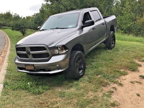 many upgrades 2013 Ram 1500 Express Crew Cab lifted for sale