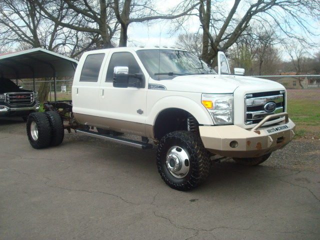 offroad tires 2012 Ford F 350 KING RANCH lifted for sale
