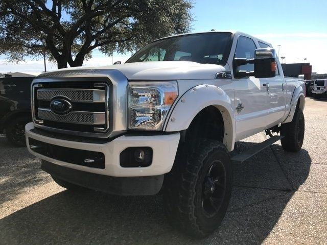 well equipped 2013 Ford F 250 Platinum Lifted