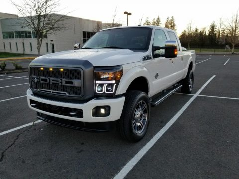 well optioned 2013 Ford F 250 Platinun lifted for sale