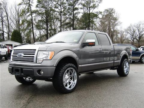 2009 Ford F 150 Platinum Lariat 4X4 Crew Cab lifted for sale