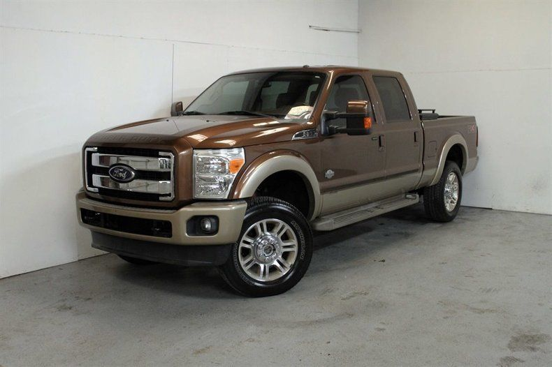 luxury worker 2011 Ford F 350 King Ranch lifted for sale