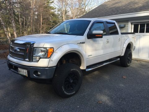 offroad package 2011 Ford F 150 4×4 Supercrew Lariat Series lifted for sale