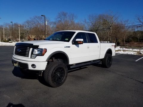 well equipped 2011 Ford F 150 FX4 SUPERCREW lifted for sale