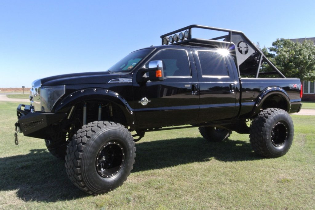 well modified 2011 Ford F 250 XLT lifted for sale