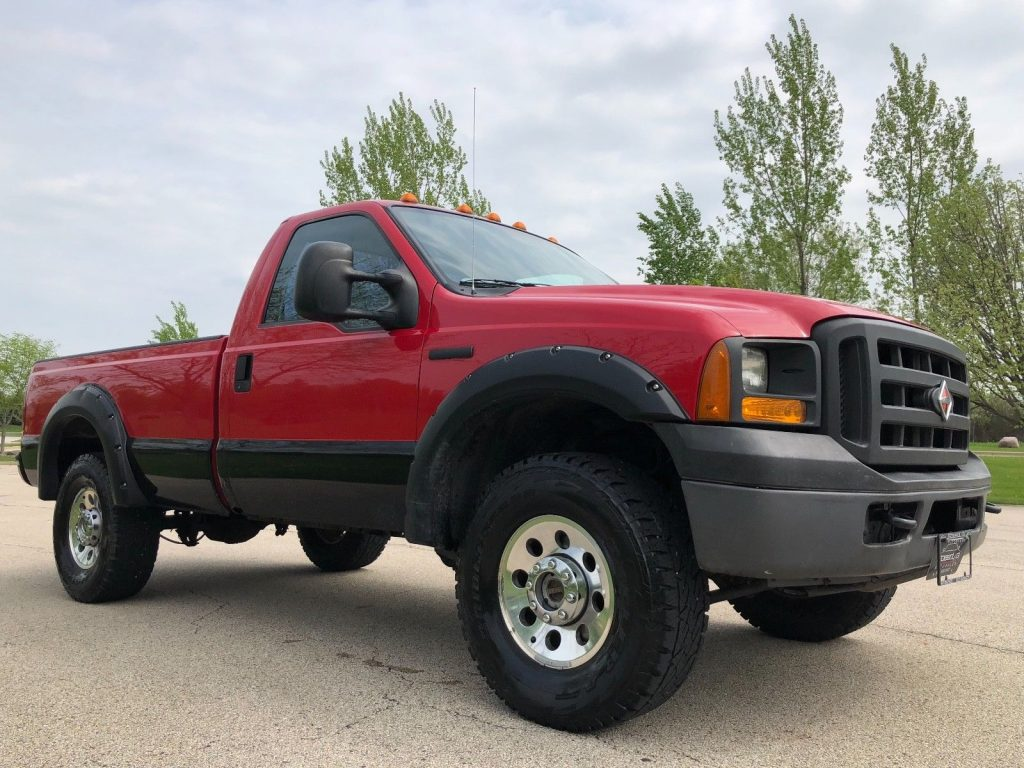clean 2006 Ford F 250 Super Duty 4X4 lifted