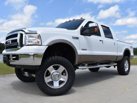 good shape 2007 Ford F 250 Lariat lifted for sale