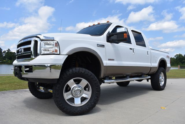 good shape 2007 Ford F 250 Lariat lifted