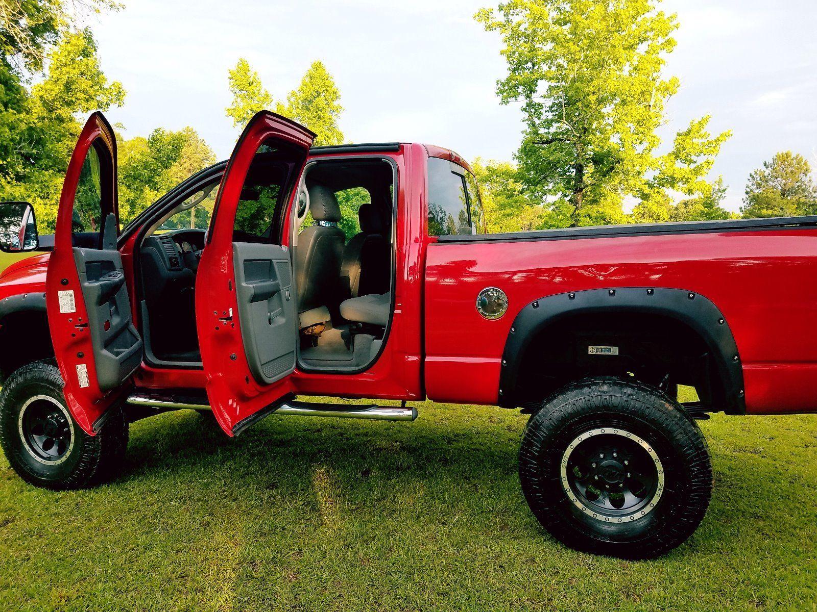 loaded 2006 Dodge Ram 2500 SLT lifted