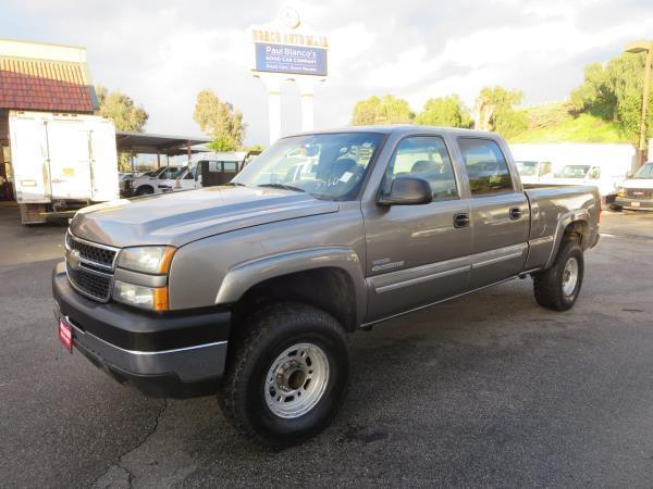 low miles 2007 Chevrolet C2500 DSL LT lifted for sale