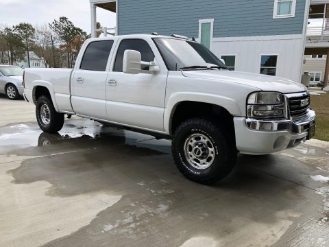 modified 2006 GMC Sierra 2500 SLT lifted for sale