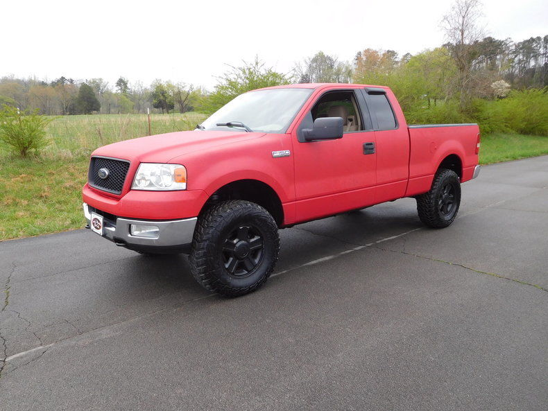 new tires 2004 Ford F 150 lifted