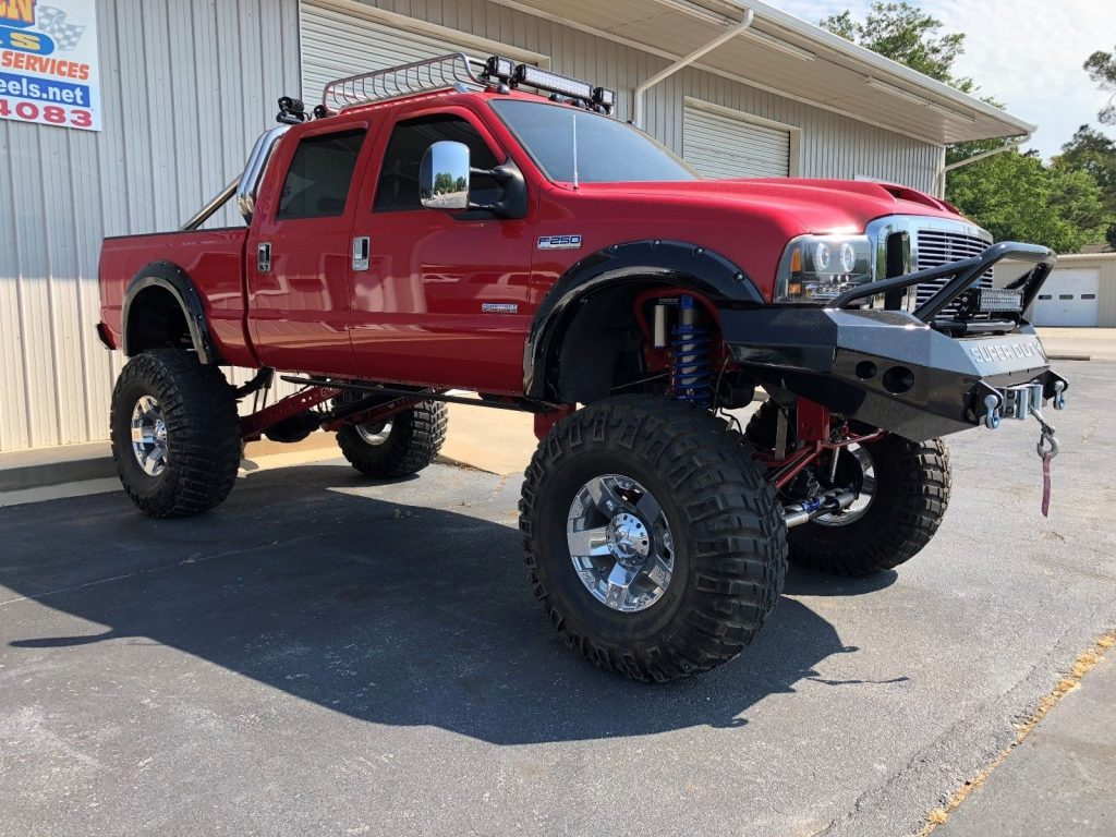 tons of upgrades 2006 Ford F 250 lariat lifted