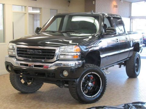 upgraded wheels 2007 GMC Sierra 1500 SLE1 Crew Cab lifted for sale