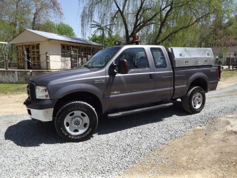 utility service truck 2007 Ford F 350 lifted for sale
