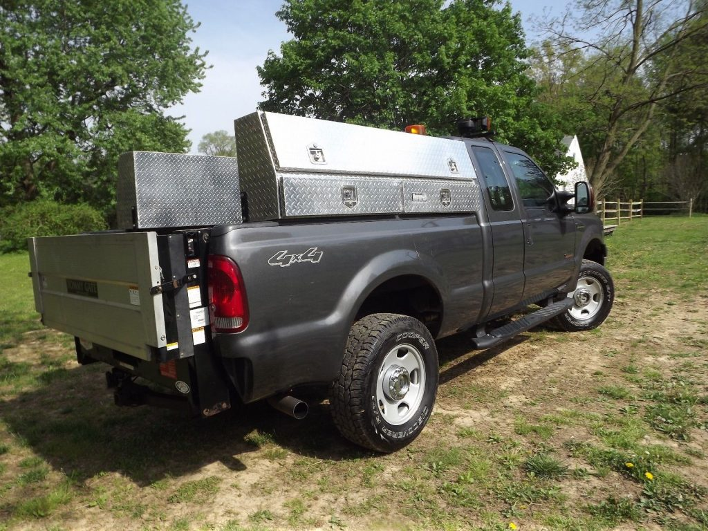 utility service truck 2007 Ford F 350 lifted