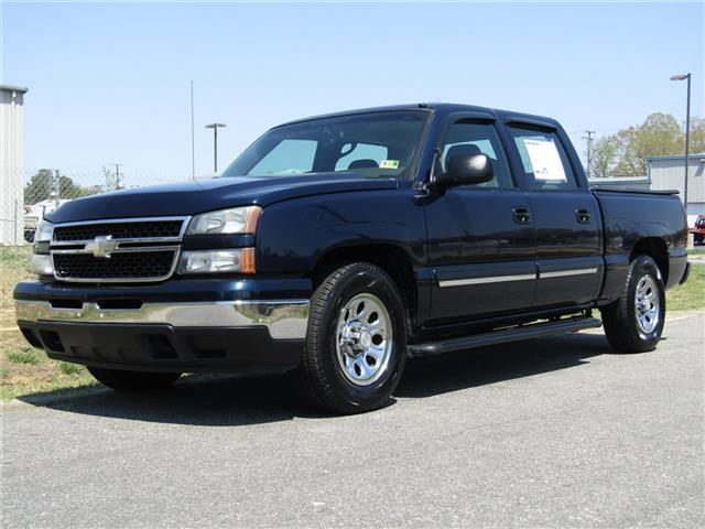 very clean 2007 Chevrolet Silverado 1500 LS Crew Cab Short Bed Vortec lifted