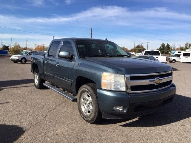well equipped 2007 Chevrolet Silverado 1500 LTZ Crew Cab lifted