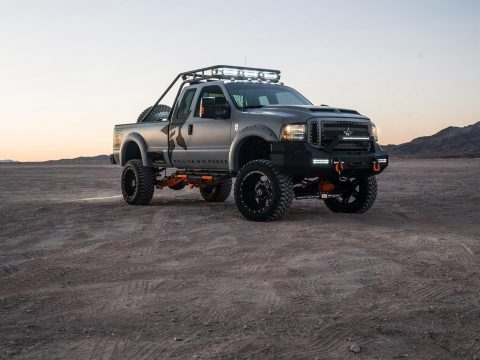 Custom 2002 Ford F 250 XLT lifted for sale
