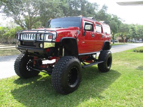 custom built 2004 Hummer H2 lifted for sale