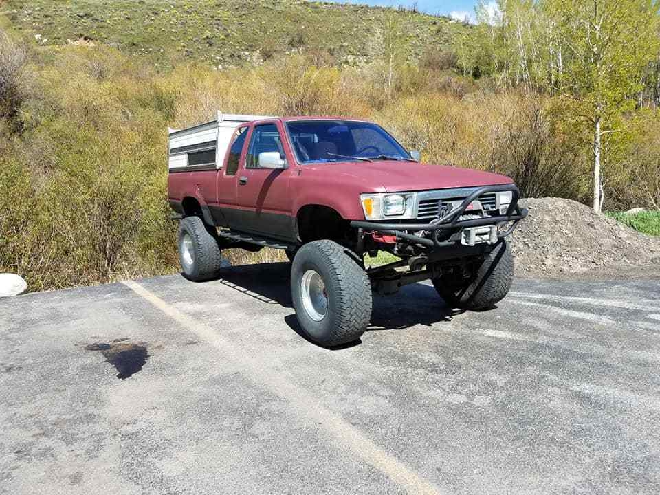 custom built driveshaft 1989 Toyota lifted