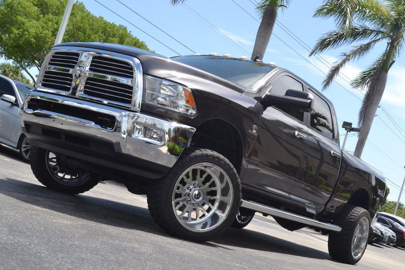 Forged Wheels 2016 Ram 2500 4×4 lifted for sale