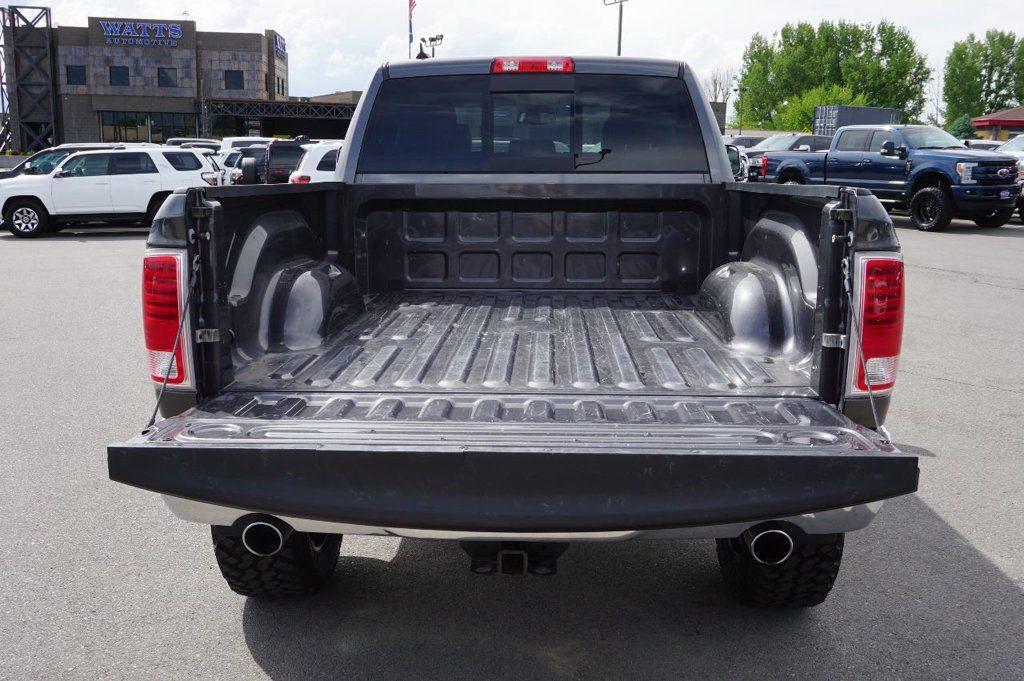 low mileage 2016 Ram 1500 Laramie lifted