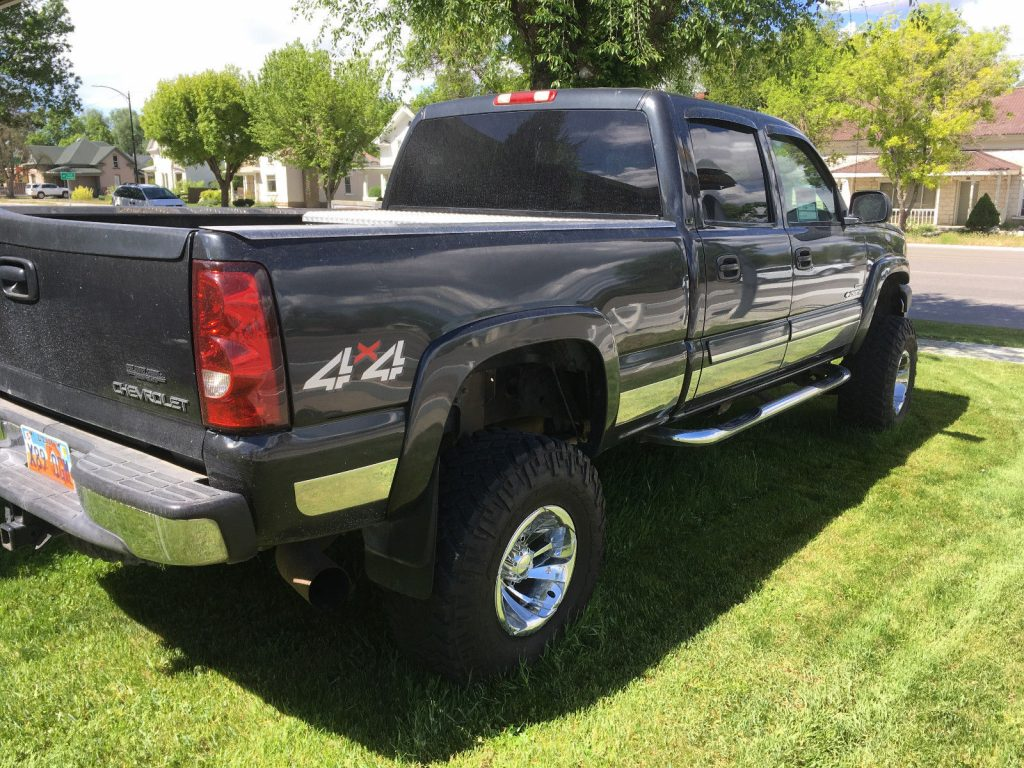 well serviced 2003 gmc sierra 2500 hd duramax diesel custom lifted for sale. Black Bedroom Furniture Sets. Home Design Ideas