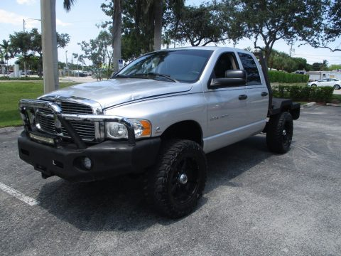 great flatbed hauler 2004 Dodge Ram 2500 lifted for sale