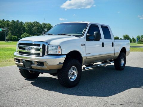 great shape 2001 Ford F 250 Limited lifted for sale
